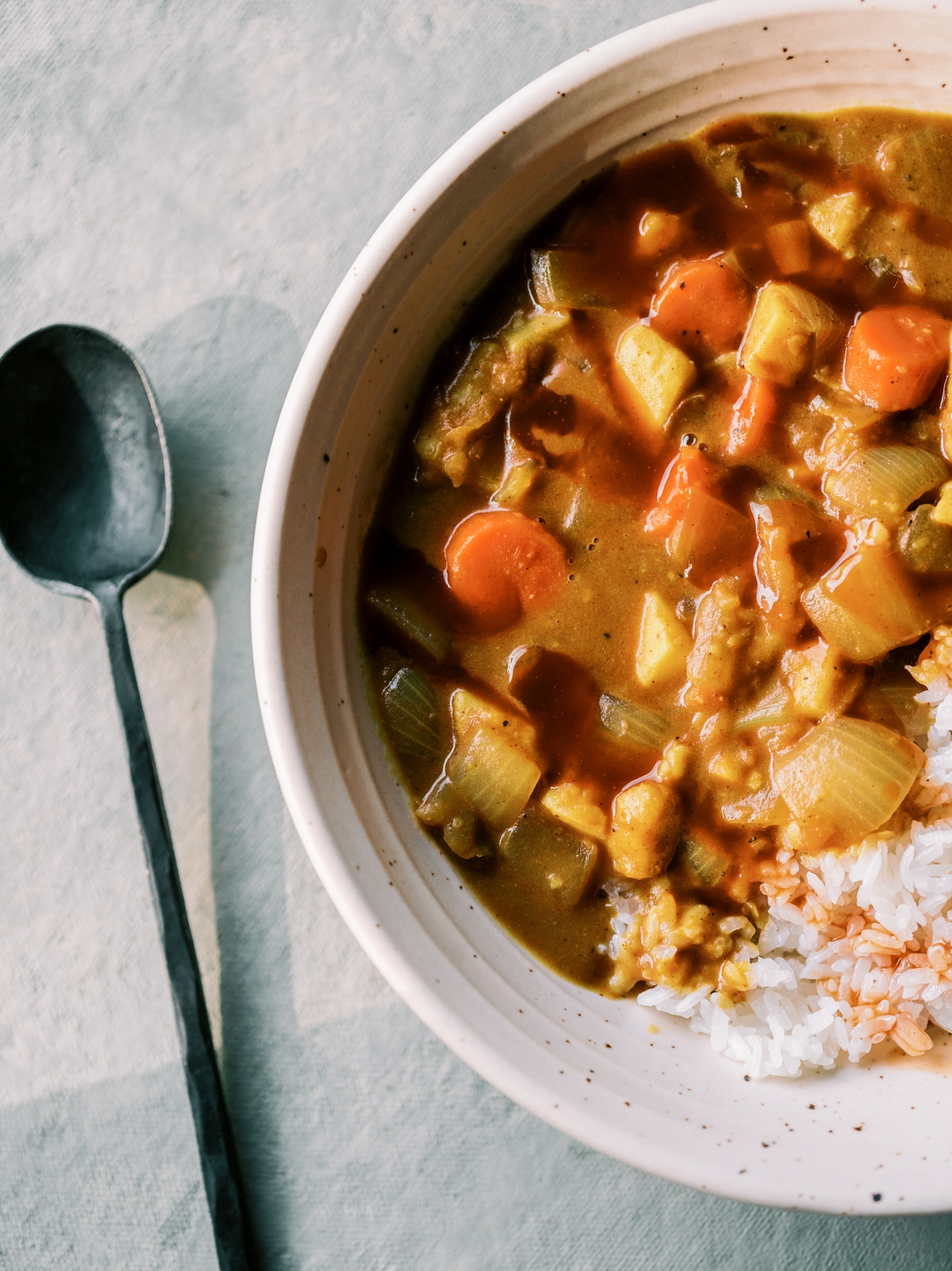 Homemade Vegan Japanese Curry