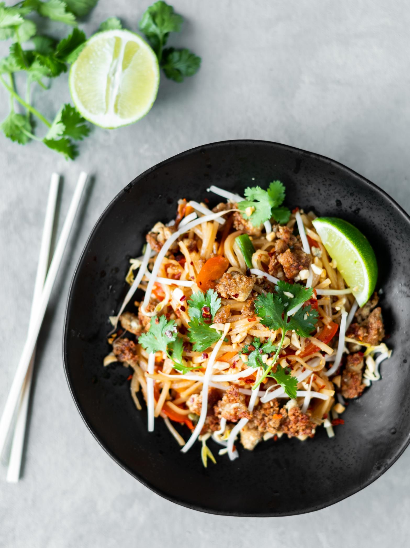 Pumfu Recipe Vegan Pad Thai