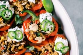 Vegan Southwestern Stuffed Peppers