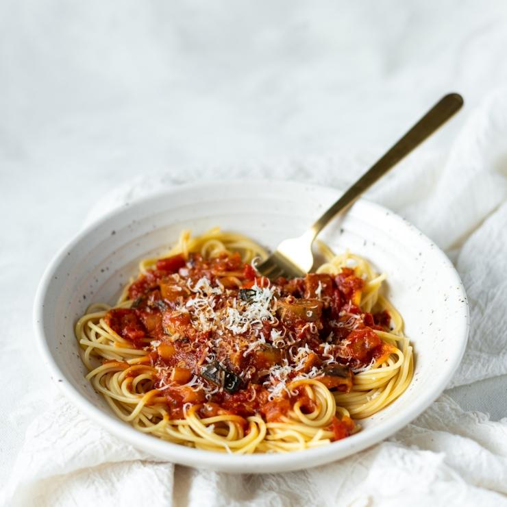 Easy Vegan Vegetable Spaghetti