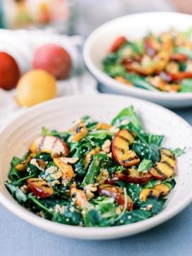 Vegan Grilled Stonefruit Salad Recipe