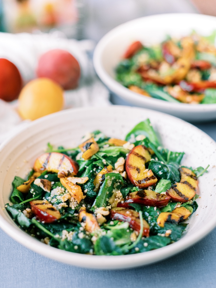 Vegan Grilled Stonefruit Salad Recipe
